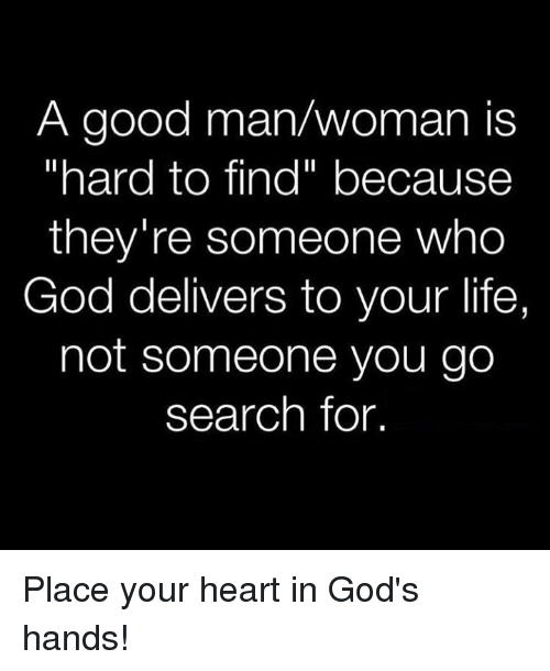 Com a good man is hard to find