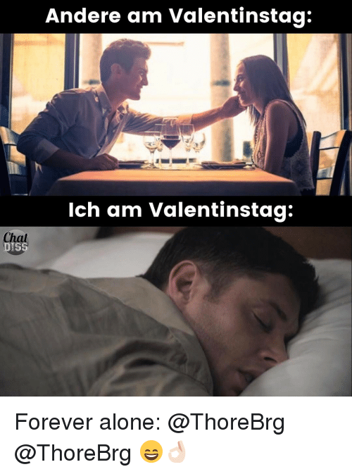 Andere Am Valentinstag Ich Am Valentinstag Forever Alone ...