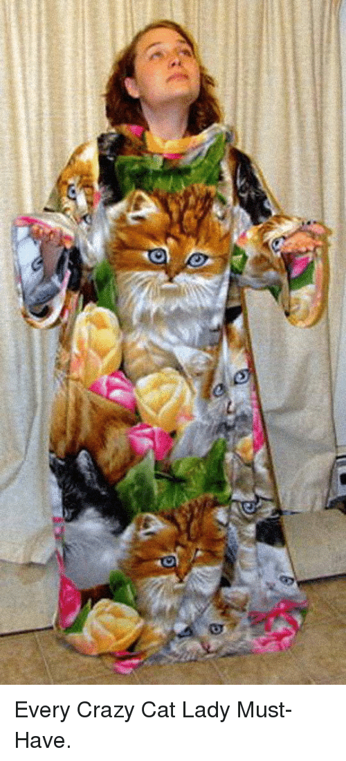 Crazy, Cat, and Lady: <p>Every Crazy Cat Lady Must-Have.</p>