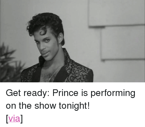 """uproxx: <p>Get ready: Prince is performing on the show tonight!</p> <p>[<a href=""""http://www.uproxx.com/music/2012/07/frank-ocean-can-cover-prince-whenever-he-wants/"""" target=""""_blank"""">via</a>]</p>"""