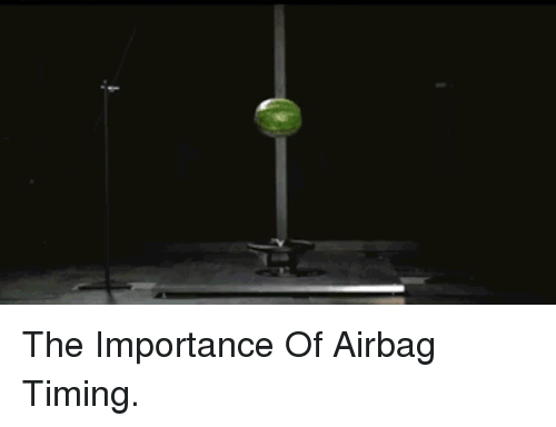 airbag: <p>The Importance Of Airbag Timing.</p>