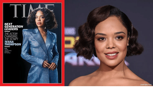 the script: ΤΙ  TIN  NEXT  GENERATION  LEADERS  THE ACTOR  CHANGING  THE SCRIPT  TESSA  THOMPSON  MORE  TRALRAERS  SHAG  woRLO  SHUTTERSTOCK