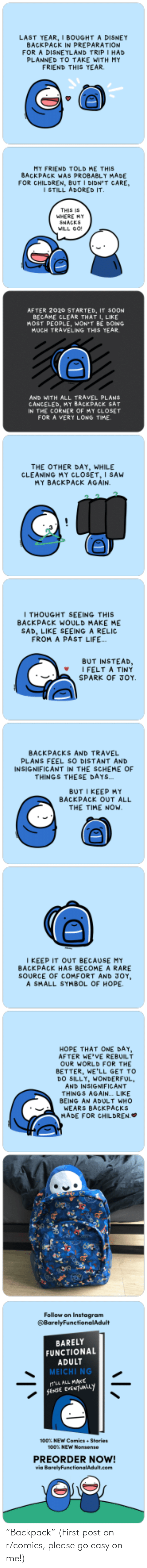 "first: ""Backpack"" (First post on r/comics, please go easy on me!)"