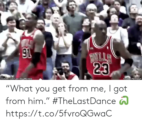 """Me I: """"What you get from me, I got from him.""""   #TheLastDance 🐍  https://t.co/5fvroQGwaC"""