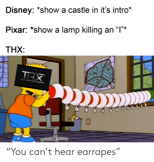 "You Can: ""You can't hear earrapes"""