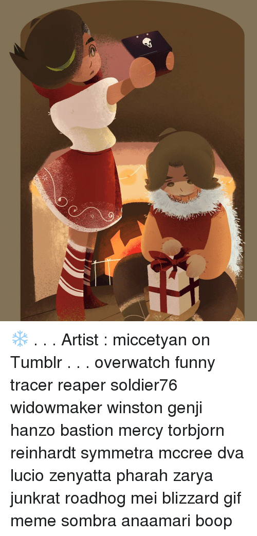 Artist Miccetyan On Tumblr Overwatch Funny Tracer Reaper