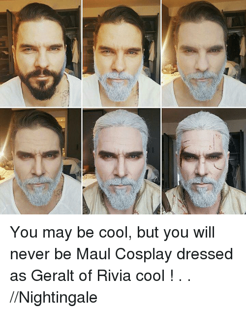 ざ You May Be Cool But You Will Never Be Maul Cosplay