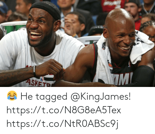 Tagged: 😂 He tagged @KingJames! https://t.co/N8G8eA5Tex https://t.co/NtR0ABSc9j