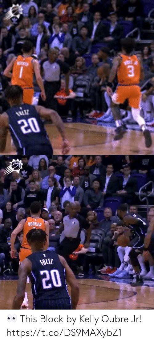 Kelly: 👀 This Block by Kelly Oubre Jr!  https://t.co/DS9MAXybZ1
