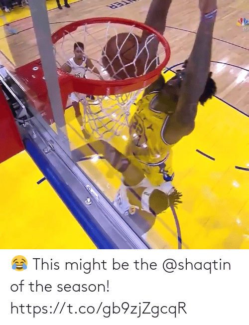 memes: 😂 This might be the @shaqtin of the season!   https://t.co/gb9zjZgcqR