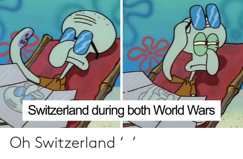 Switzerland, World, and Wars: 00  Switzerland during both World Wars Oh Switzerland '꒳'
