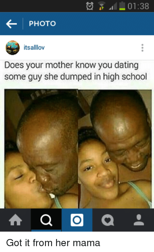 Dating your mother