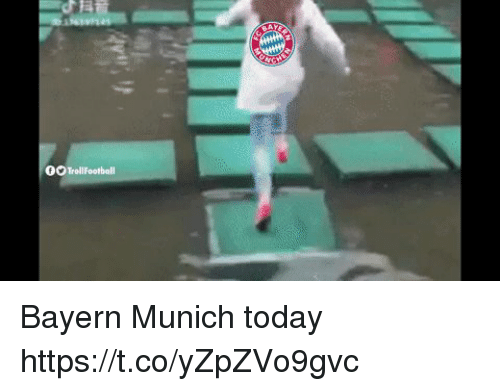 Memes, Today, and Bayern: 0X Trollfootball Bayern Munich today https://t.co/yZpZVo9gvc