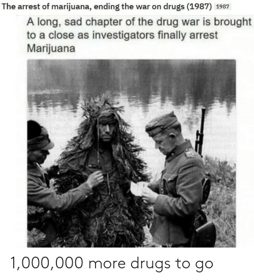 To Go: 1,000,000 more drugs to go