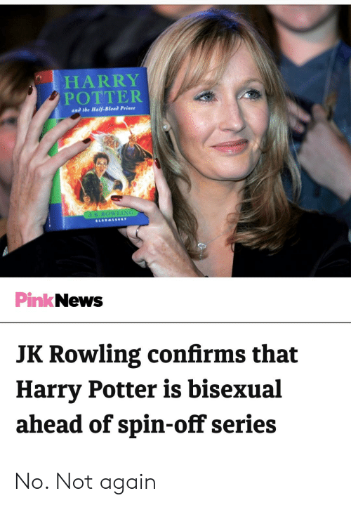 1 Harry Potter An Dtbe Half Blood Prince Pink News Jk Rowling