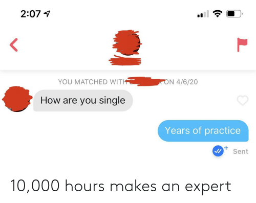 10 000: 10,000 hours makes an expert