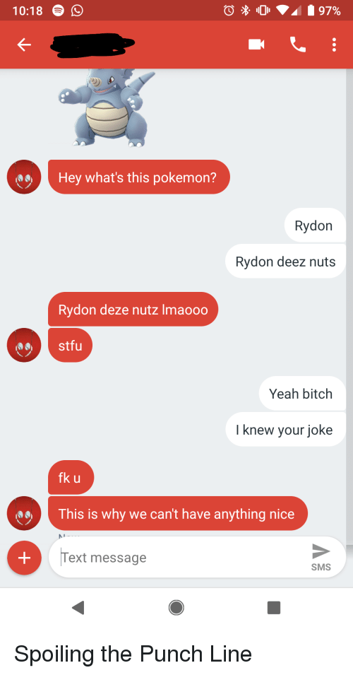 1018 O Hey What's This Pokemon? Rydon Rydon Deez Nuts Rydon