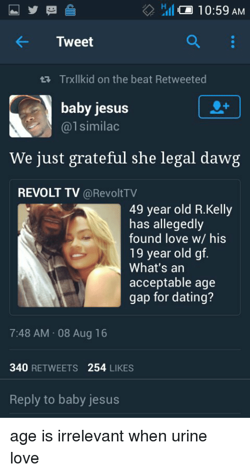 Dating age gap 7 years