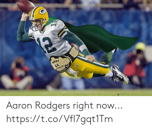 Aaron Rodgers: 12 Aaron Rodgers right now... https://t.co/Vfl7gqt1Tm