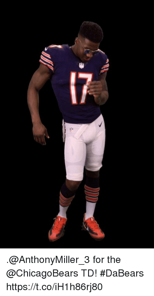 Memes, 🤖, and For: 17 .@AnthonyMiller_3 for the @ChicagoBears TD! #DaBears https://t.co/iH1h86rj80
