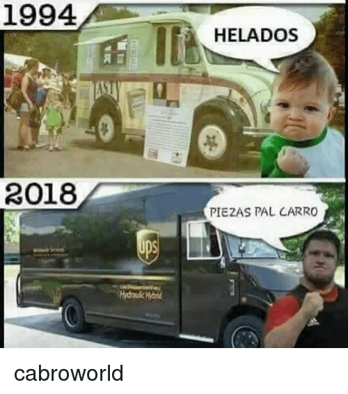 Pal and Carro: 1994  HELADOS  1  2018  PIEZAS PAL CARRO cabroworld