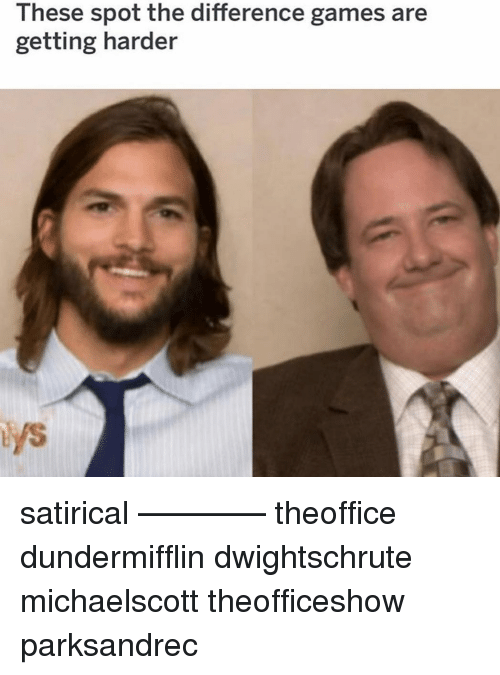 Memes, Games, and 🤖: 2  These spot the difference games are  getting harder satirical ———— theoffice dundermifflin dwightschrute michaelscott theofficeshow parksandrec