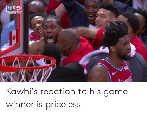 Game Winner: 2019 EASTEAN SENIS Kawhi's reaction to his game-winner is priceless