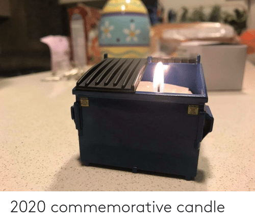 Candle: 2020 commemorative candle