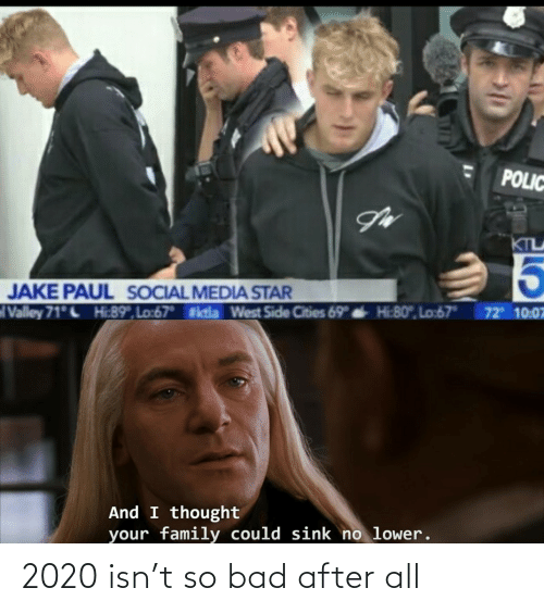 Bad: 2020 isn't so bad after all