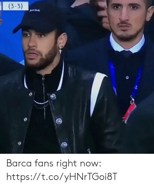 Soccer, Barca, and Ast: (3-3)  Ast doit Barca fans right now: https://t.co/yHNrTGoi8T
