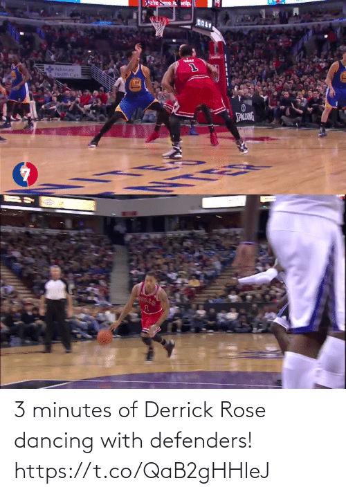 Derrick: 3 minutes of Derrick Rose dancing with defenders!    https://t.co/QaB2gHHleJ