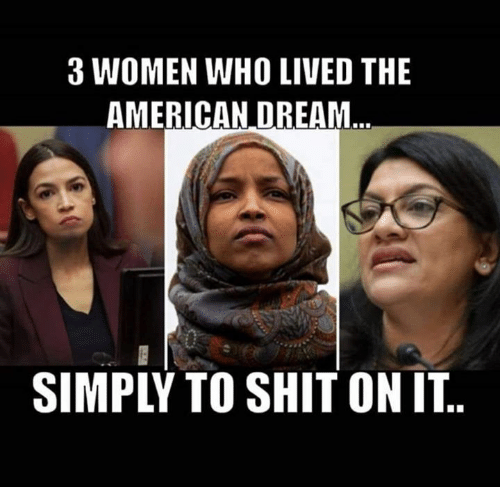 Memes, Shit, and American: 3 WOMEN WHO LIVED THE  AMERICAN DREAM  SIMPLY TO SHIT ON IT..