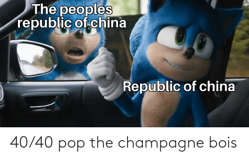 pop: 40/40 pop the champagne bois