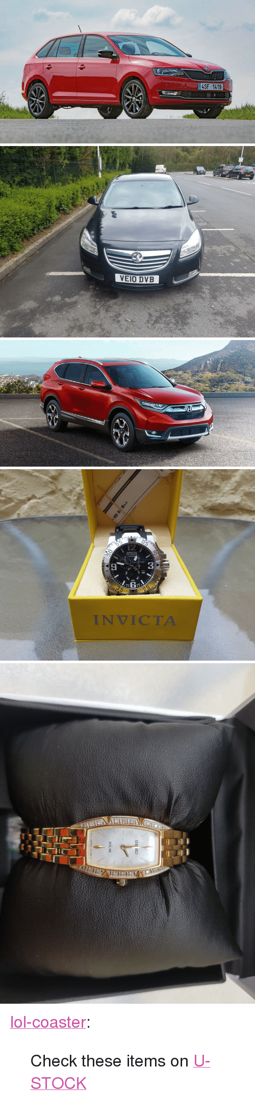 "Lol, Tumblr, and Blog: 4SF 1419  Cz   VEIO DVB   05  12  INVICTA  RESERVE  3  30  SUN  MADE  INVICTA <p><a href=""http://lol-coaster.tumblr.com/post/161401137257/check-these-items-on-u-stock"" class=""tumblr_blog"">lol-coaster</a>:</p><blockquote><p>Check these items on <a href=""http://www.u-stock.com"">U-STOCK</a></p></blockquote>"
