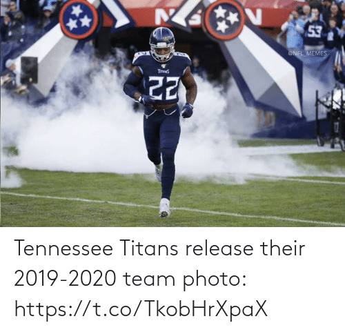 photo: 53  @NFL_MEMES  TITANS Tennessee Titans release their 2019-2020 team photo: https://t.co/TkobHrXpaX
