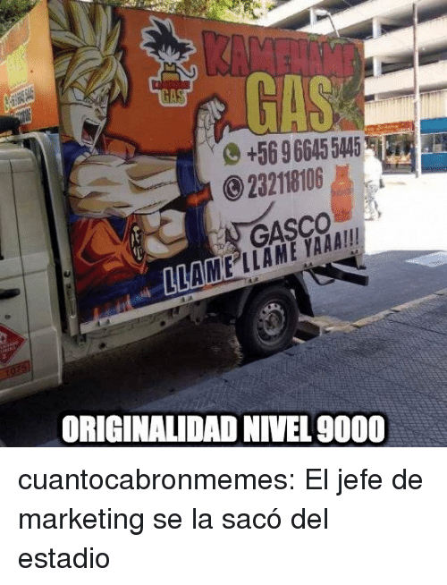 Target, Tumblr, and Blog: 569 6645 5445  232118106  GASCO  MAM EİAME YAAA!!  ORIGINALIDAD NIVEL 9000 cuantocabronmemes:  El jefe de marketing se la sacó del estadio