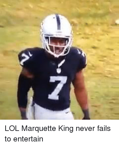 Fail, Nfl, and Entertainment: 7 LOL Marquette King never fails to entertain