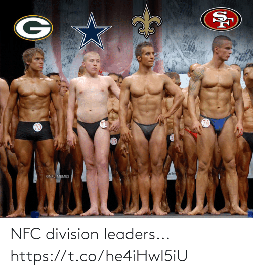 nfc: 74  70  a Brn  @NFL MEMES NFC division leaders... https://t.co/he4iHwl5iU