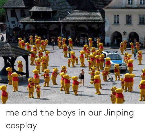 Cosplay, Boys, and The Boys: 7ors me and the boys in our Jinping cosplay