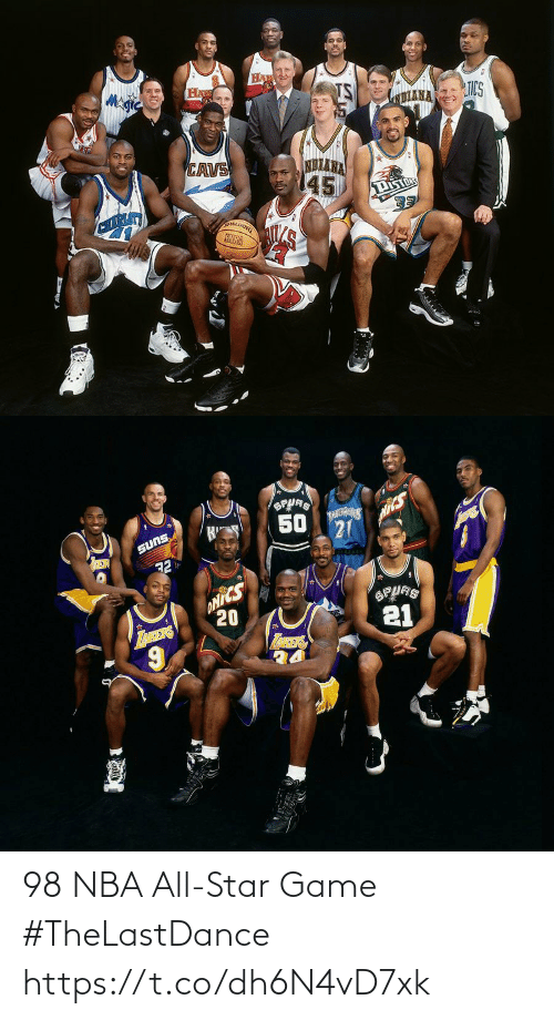 NBA All-Star Game: 98 NBA All-Star Game  #TheLastDance https://t.co/dh6N4vD7xk