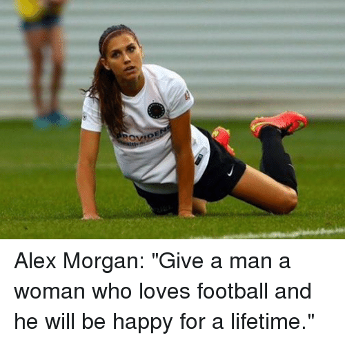 Ide alex morgan give a man a woman who loves football and he will be love soccer and alex morgan ide alex morgan give a man voltagebd Choice Image