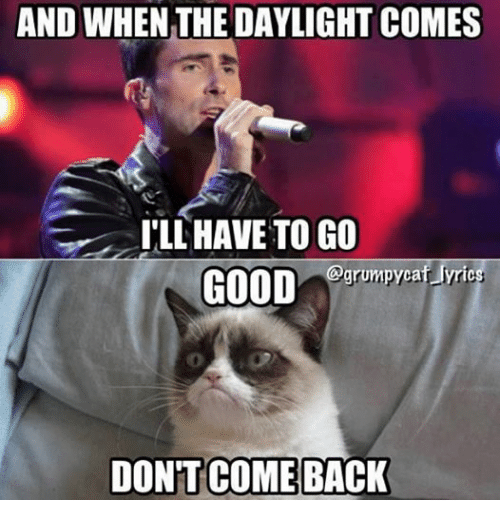 And When The Daylight