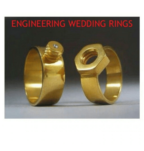Wedding Rings For Engineers Unique Wedding Ideas
