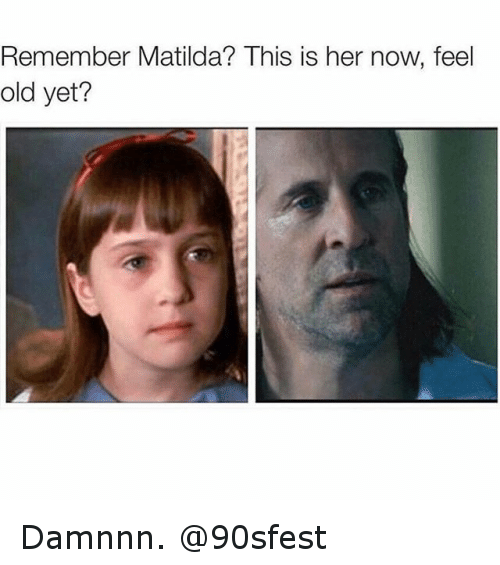 Feel Old Yet