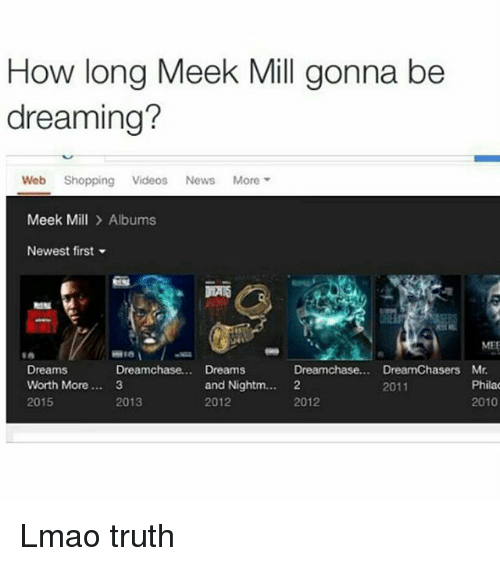 Clowning on Meek Mill, Lmao, and Truth: Lmao truth