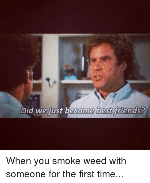Instagram When you smoke weed with someone 664fd7 did we just become best friends? when you smoke weed with someone