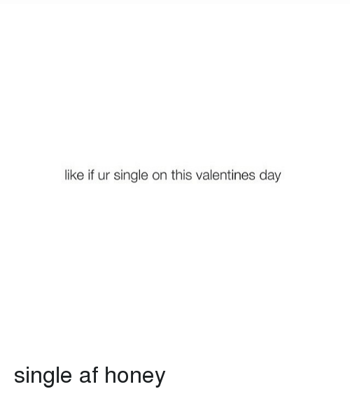 Valentines Day Single