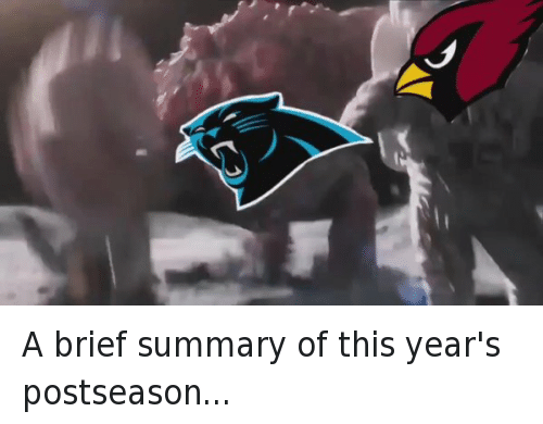 Arizona Cardinals: A brief summary of this year's postseason...