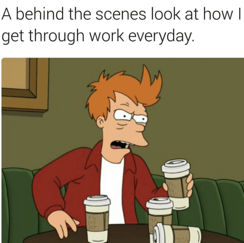 Work, How, and Look: A behind the scenes look at how I  get through work everyday.