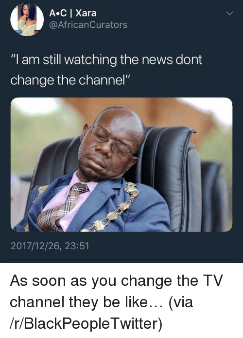 """tv channel: A C 